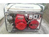 honda generator spares and repairs