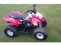 Polaris Outlaw 90cc kids/Adults quad bike Auto with forward and reverse