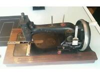 Old vintage german boat sewing machine
