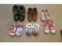 Size 8 girls shoes and boots