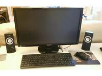 Gaming PC: comes with monitor, speakers, keyboard, mouse