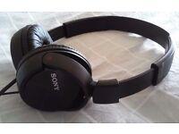 Sony headphones Excellent condition