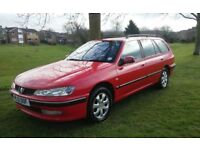 2001 PEUGEOT 406 ESTATE 2.0 HDI 1 YEARS MOT CHEAP TAX SERVICE HISTORY VERY ECONOMICAL