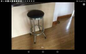 2 different style bar stools