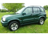 2001 SUZUKI GRAND VITARA 2.0 PETROL 4 X 4 LOVELY DRIVE 5 DOOR HATCH 1 YEARS MOT