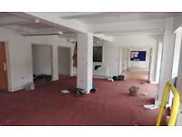 VERY LARGE AND SPACIOUS COMMERCIAL UNIT FOR RENT
