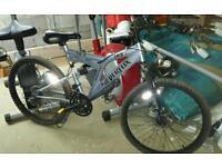 Boys / kids / childs bike full suspension