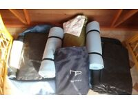 4 man tent for spares (no poles), 2 sleeping mats, double airbed