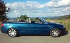 2007 AUDI A4 QUATTRO 3.0 TDI CONVERTIBLE DIESEL AUTO 4 x 4 AWD
