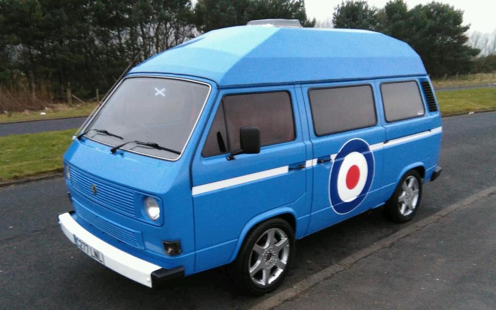 VW T25 T2 T3 T4 Camper Campervan Fully Restored Cost GBP18000 Big Brakes Subaru