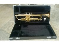 Yamaha Trumpet YTR4335G with Vincent Bach 7C mouthpiece