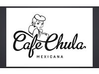 Experienced Waiter wanted in Cafe Chula