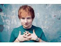 Ed Sheeran tickets 02 arena x2