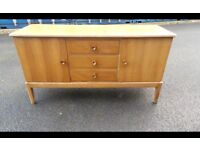 Vintage Mid-Century Walnut Sideboard by Gordon Russell of Broadway,Can Deliver