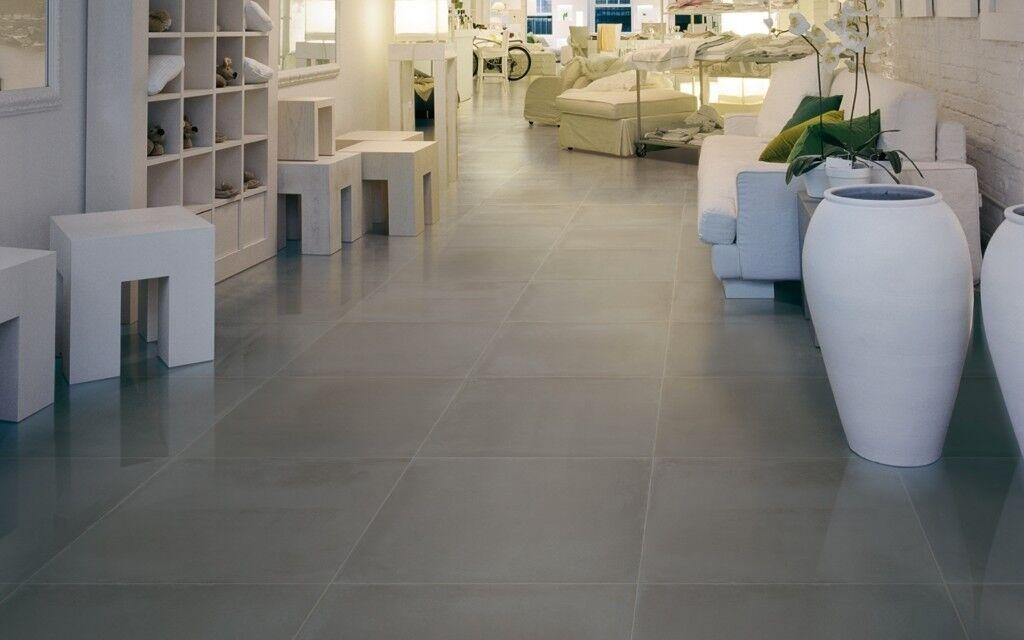 90 Large Dark Grey Premium Italian Floor Tiles 600mmx300mm In