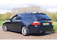"2009 BMW 5 Touring 3.0d M Sport (6-Speed Manual) Full Service Bi-Xenon Full Leather SatNav 18"""