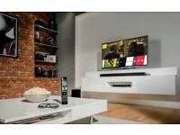 """LG """"55""""SMART 3D UHD LED HD TV SLIM DESIGN TOP FEATURES X 4 3D GLASSES FREE DELIVERY"""