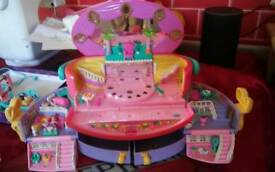 Polly pocket x 6 sets from 1993 to 1999 all complete