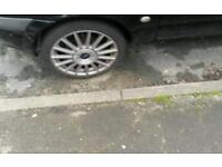 """FORD ST ALLOY WHEELS 17"""" VGC WITH VERY GOOD TYRES"""