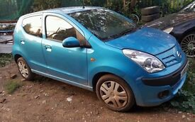 Nissan Pixo, 2010 year, blue colour, 5 door Breaking and selling for Parts