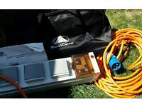 Sunncamp electric hook up for tents caravans