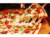 Experienced kebab and pizza shop staff required