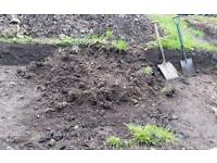 Top soil from garden free pickup