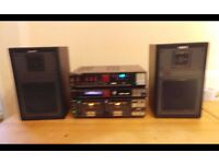 Sony TA-V11W INTEGRATED STEREO AMPLIFIER VINTAGE HI FI MADE IN JAPAN