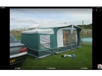 SWIFT CORNICHE 13/2 CARAVAN WITH MOTOR MOVER AND FULL AWNING WITH BEDROOM ANNEXE