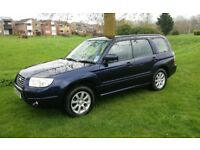 2005 SUBARU FORESTER X 2.0 ESTATE AWD 4 x 4 FULL HISTORY MOT