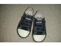 Toddler Size 4F Clarks shoes