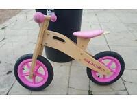 apollo balance bike PINK