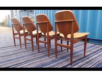 Mid Century' Elliots of Newbury (EoN) Chairs Immaculate ,Can deliver
