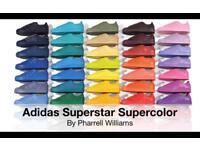 ADIDAS SUPERSTARS SUPERCOLOURS