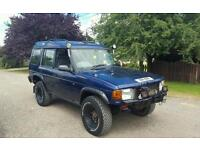 Landrover discovery tdi 300 4x4 on/off road body lift Big wheels £1650