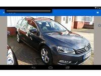 Volkswagen Passat 2011 DSG Bluemotion TDI Auto Estate Satnav FSH 2.5 warranty