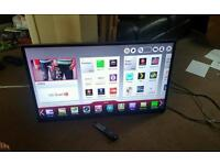 Lg 47 inch super slim led 3D smart WiFi new condition fully working with remote control