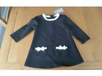 Baby girls dress NEW age 9-12 months