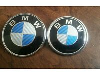 Bmw e46 carbon badges
