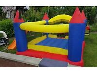 Look! Kids bouncy castle at bargain price!