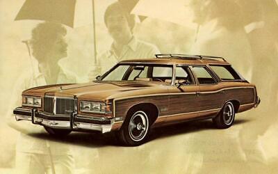 - Print.  1976 Pontiac Grand Safari Wagon Auto Advertisement