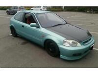 Honda civic k20 k swap not b series vti type r ek eg ej ep3 dc2 dc5 fn2 s2000