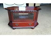 Mahogany TV Unit