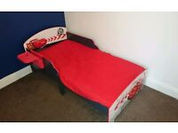 Toddler Disney Cars Bed - Lightning Mcqueen