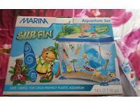 Fish tank starter pack brand new in box