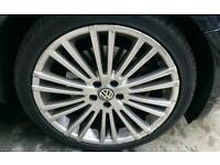 Mk4 golf r32 style alloy wheels