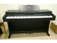 Yamaha Clavinova CVP-92 Digital Piano Full Size weighted keys -piano with rhythms and accompaniments