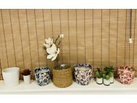 Vintage flowerpots pick up on or by 21st of April due to house move