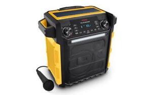 Haut-Parleur ION Bluetooth et Rechargeable IPA79E Solar Rocker 100W