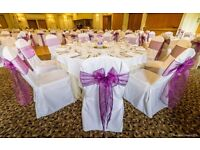White Linen Wedding Chair Covers for sale £2.00 Each Cheaper than hiring